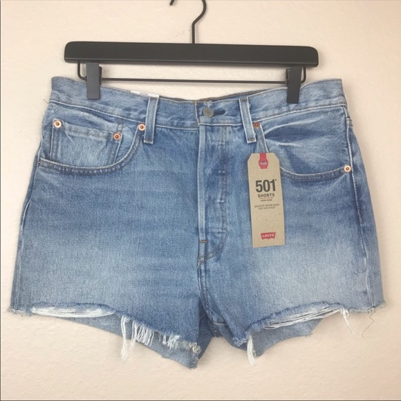 Levi's Pants - Levi's 501 High Rise Jean Shorts